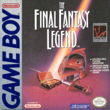 Final Fantasy Legend, The Nintendo Game Boy cover artwork
