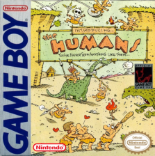 Humans, The Nintendo Game Boy cover artwork