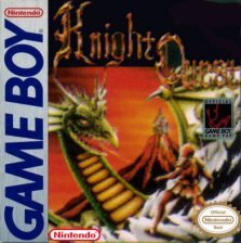 Knight Quest Nintendo Game Boy cover artwork