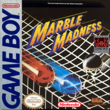 Marble Madness Nintendo Game Boy cover artwork