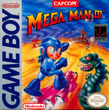 Mega Man III Nintendo Game Boy cover artwork