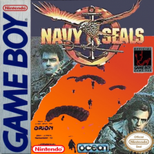 Navy Seals Nintendo Game Boy cover artwork