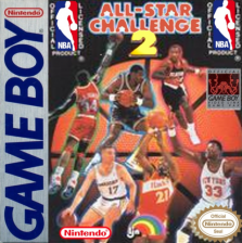 NBA All Star Challenge 2 Nintendo Game Boy cover artwork