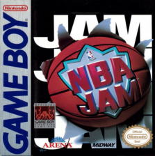 NBA Jam Nintendo Game Boy cover artwork