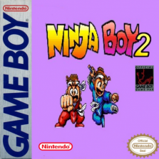 Ninja Boy 2 Nintendo Game Boy cover artwork