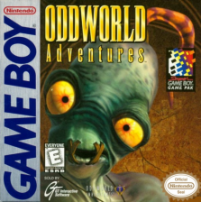 Oddworld Adventures Nintendo Game Boy cover artwork