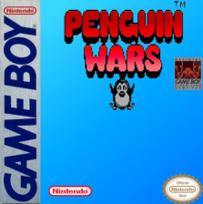 Penguin Wars Nintendo Game Boy cover artwork