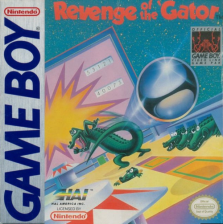 Pinball - Revenge of the 'Gator Nintendo Game Boy cover artwork