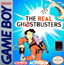 rampart nintendo game boy real ghostbusters the nintendo game boy