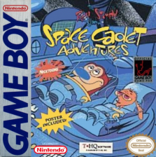 Ren & Stimpy Show, The - Space Cadet Adventures Nintendo Game Boy cover artwork