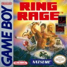 Ring Rage Nintendo Game Boy cover artwork