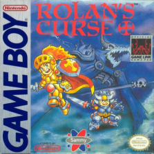 Rolan's Curse Nintendo Game Boy cover artwork