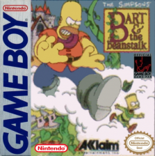 Simpsons, The - Bart & the Beanstalk Nintendo Game Boy cover artwork
