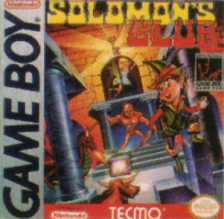 Solomon's Club Nintendo Game Boy cover artwork