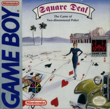Square Deal - The Game of Two-Dimensional Poker Nintendo Game Boy cover artwork