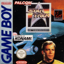 Star Trek - 25th Anniversary Nintendo Game Boy cover artwork