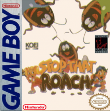 Stop That Roach! Nintendo Game Boy cover artwork