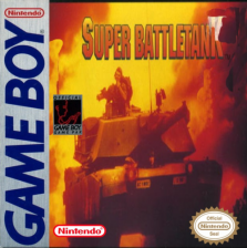 Super Battletank - War in the Gulf Nintendo Game Boy cover artwork