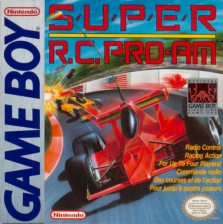 Super R.C. Pro-Am Nintendo Game Boy cover artwork