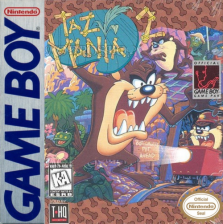 Taz-Mania 2 Nintendo Game Boy cover artwork