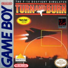 Turn and Burn Nintendo Game Boy cover artwork