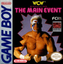 WCW Main Event Nintendo Game Boy cover artwork