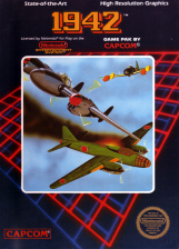 1942 Nintendo NES cover artwork