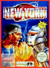 Action in New York Nintendo NES cover artwork