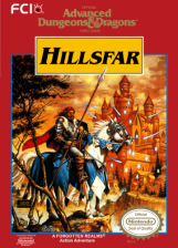 Advanced Dungeons & Dragons - Hillsfar Nintendo NES cover artwork