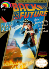 Back to the Future Nintendo NES cover artwork