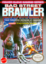 Bad Street Brawler Nintendo NES cover artwork