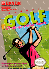 Bandai Golf - Challenge Pebble Beach Nintendo NES cover artwork
