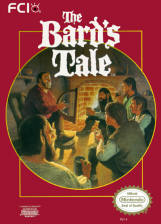 Bard's Tale, The Nintendo NES cover artwork