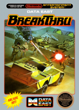 BreakThru Nintendo NES cover artwork