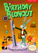Bugs Bunny Birthday Blowout, The Nintendo NES cover artwork