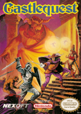 Castlequest Nintendo NES cover artwork