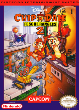 Chip 'n Dale Rescue Rangers 2 Nintendo NES cover artwork