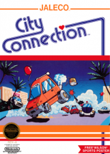 City Connection Nintendo NES cover artwork
