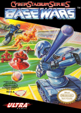 Cyber Stadium Series - Base Wars Nintendo NES cover artwork