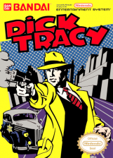 Dick Tracy Nintendo NES cover artwork