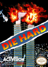 Die Hard Nintendo NES cover artwork