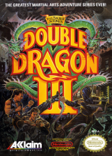 Double Dragon III - The Sacred Stones Nintendo NES cover artwork