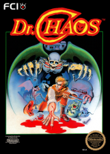 Dr. Chaos Nintendo NES cover artwork