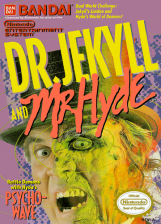 Dr. Jekyll and Mr. Hyde Nintendo NES cover artwork