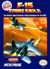 F-15 Strike Eagle Nintendo NES cover artwork
