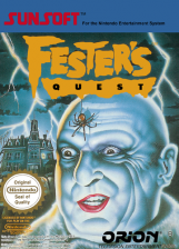 Fester's Quest Nintendo NES cover artwork
