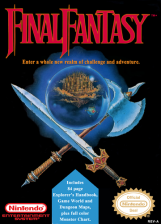 Final Fantasy Nintendo NES cover artwork