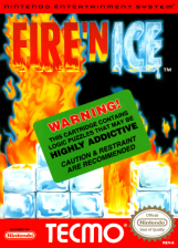 Fire 'n Ice Nintendo NES cover artwork