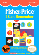 Fisher-Price - I Can Remember Nintendo NES cover artwork