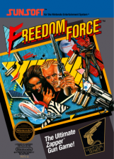 Freedom Force Nintendo NES cover artwork